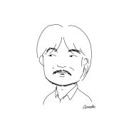 お絵かき理学療法士の井上篤史先生に、もうひとつ似顔絵を書いてもらった!