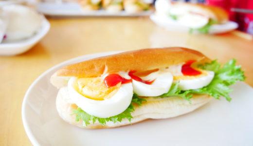 【Diary】ゆで卵サンドもなかなかイケる